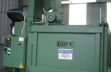Goff 72 inch Table Blast Machine